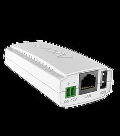ZNV 10/100 PoE Splitter, 12VDC Output