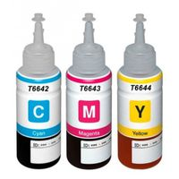 EPSON Compatible T6642/3/4 CISS Ink - 70ml C/M/Y