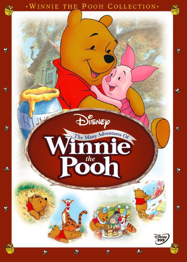 Disney The Many Adventures Of Winnie The Pooh (dvd) | Buy ...