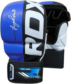 RDX T6 Rex Grappling Glove - Blue