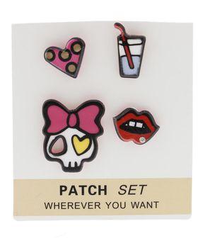 On Fleek Ladies 4 Pack Skull Pins Pack