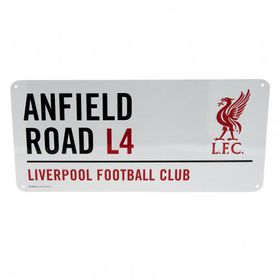 New Liverpool F.C. Street Sign
