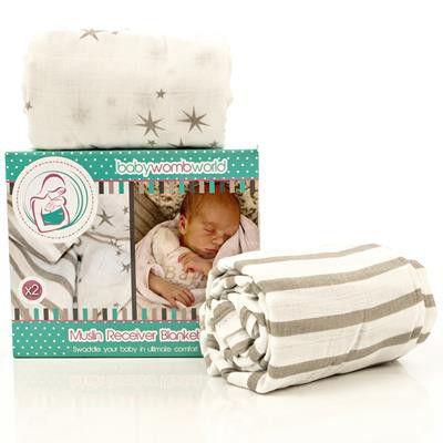 Receiving Blanket Vs Swaddling Blanket Cool Babywombworld Baby Blanket Premium Super Soft Muslin Swaddle