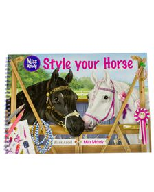 Miss Melody Style Your Horse Sticker Book