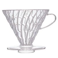 Hario V60 Coffee Dripper VD-03 Clear - For 1-6 cups