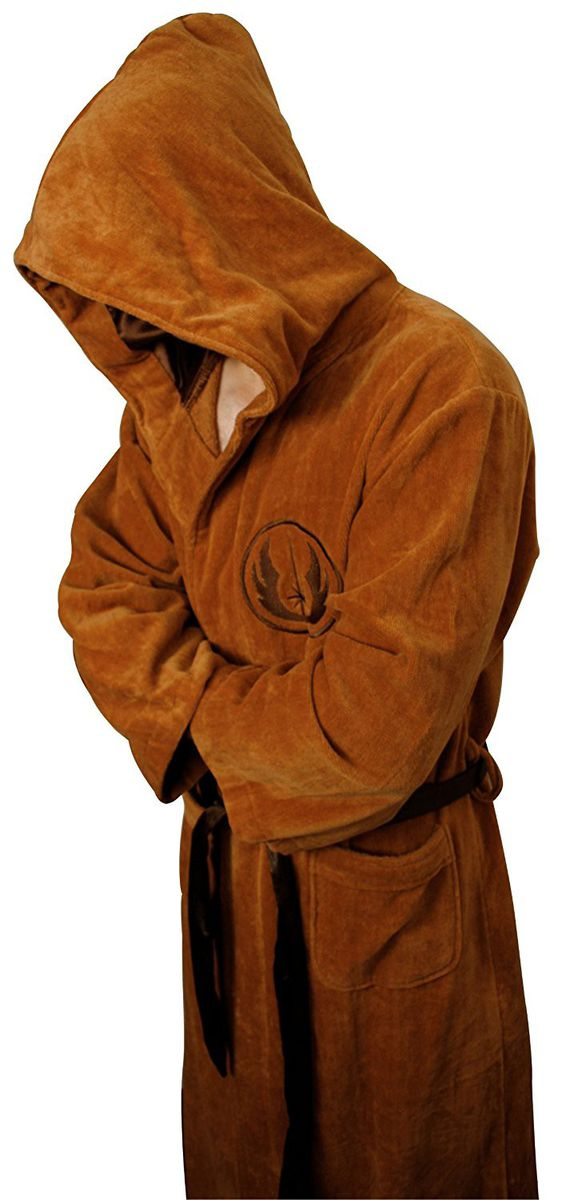 Star Wars Jedi Towelling Robe Tan Logo Adult (large) | Buy Online in ...