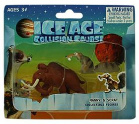 Ice Age 5 Blister Card - Manny & Scrat