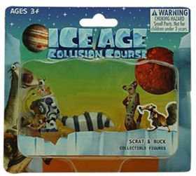 Ice Age 5 Blister Card - Scrat & Buck