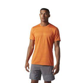 Men's adidas Supernova Short Sleeve T-Shirt - Orange