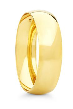 9ct-925 Gold Fusion 20mm C-shape Bangle