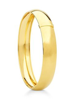 9ct-925 Gold Fusion 12mm C-Shape Bangle