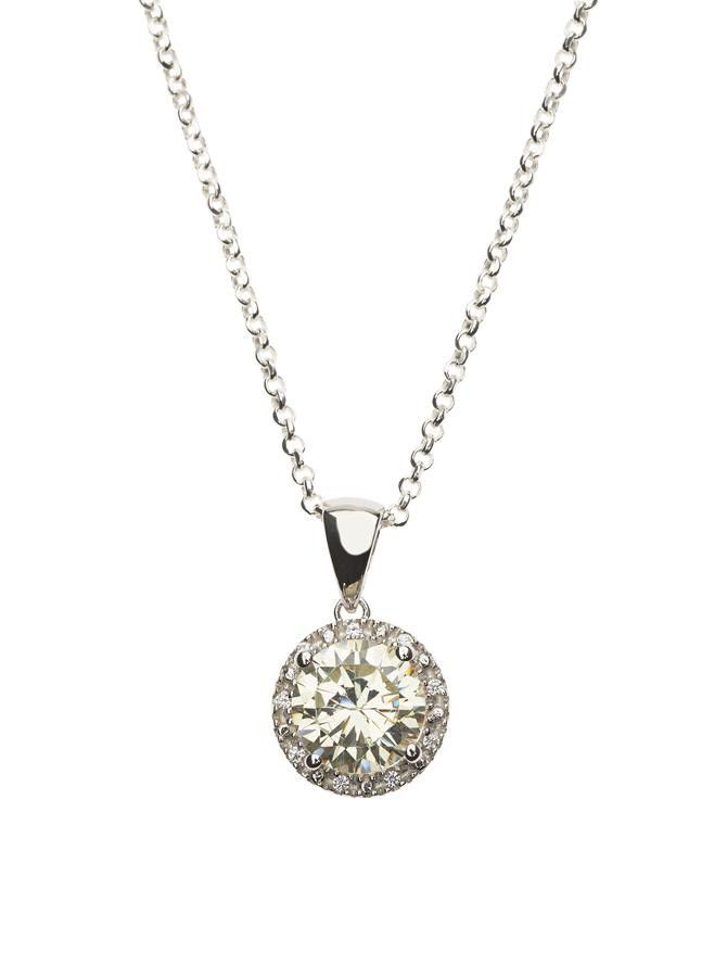 925 sterling silver lemon quartz cz halo pendant necklace buy 925 sterling silver lemon quartz cz halo pendant necklace loading zoom aloadofball Image collections