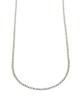 925 Sterling Silver 3mm Rolo Becher Necklace