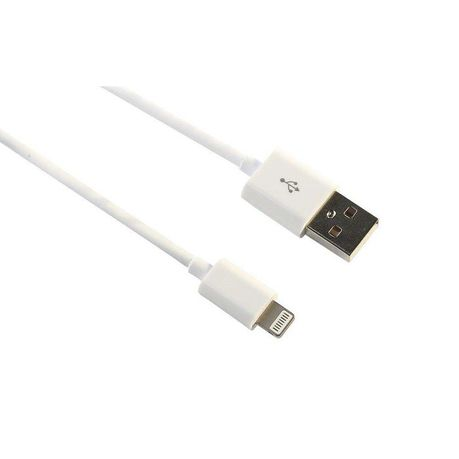 best website fe688 e247f iPhone USB Charging Cable for iPhone 5 & 6 - White