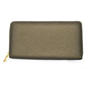 TLP059 Army Green Soft Texture Zip Through Purse