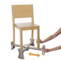Kaboost Booster Seat for Dining - Natural
