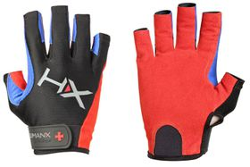 Harbinger 3/4 Comp Glove - Red,Blue And Black - (Size: X-Large)