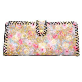 Lily&Rose Abstract Floral Print Purse TLP049