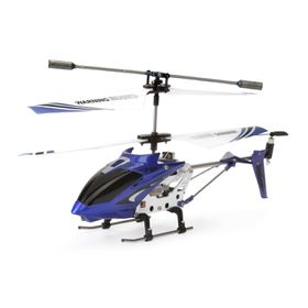 Syma S107G 3 Channel RC Helicopter with Gyro - Blue