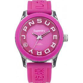 Superdry Ladies Tokyo Watch SYL146P - Pink