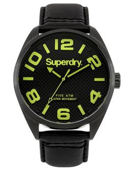 Superdry Gents Military Watch SYG192BYA - Black