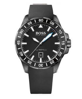 Hugo Boss Mens Deep Ocean Casual Silicone Watch 1513229HB - Black