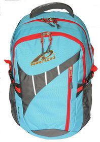 Powerland Unisex Laptop Backpack - Light Blue (BH-D160335)
