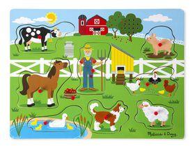 Melissa & Doug Old MacDonald's Farm - Sound Puzzle
