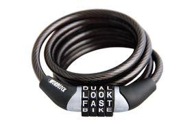 Wordlock - 4ft Mini Cable - Black (set of 2)
