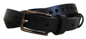 Ladies Genuine leather Belt B Black