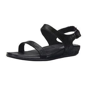 Fitflop Banda Sandal - Micro Crystal Black (Size: UK3)