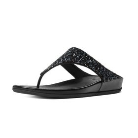 Fitflop Banda Roxy Sandal - All Black (Size: UK4)