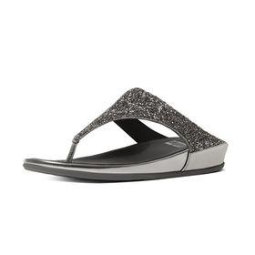 Fitflop Banda Roxy Sandal - Pewter (Size: UK3)