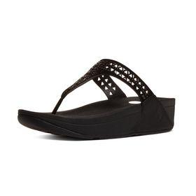 Fitflop Carmel Sandal - All Black (Size: UK4)