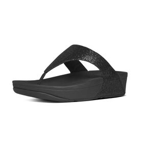 Fitflop Lulu Sandal - Superglitz Black - (Size: UK2)