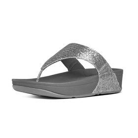 Fitflop Lulu Sandal - Superglitz Silver (Size: UK3)