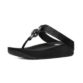 Fitflop Superchain Thong - Black (Size: UK3)