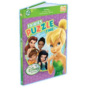 Leapfrog - Tag Disney Fairies Puzzle Time Book