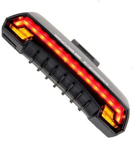 Rechargeable LED Laser Tail Light with Turning Signal