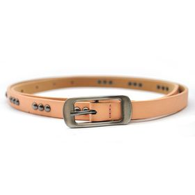 Lily & Rose TLBE015 Peach Fashion Belt Gun with Metal Studded Pattern