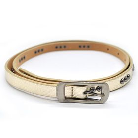Lily & Rose TLBE018 Gold Fashion Belt with Gun Metal Studded Pattern
