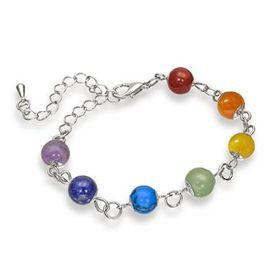 The Gem Seller Chakra Gemstone Bracelet