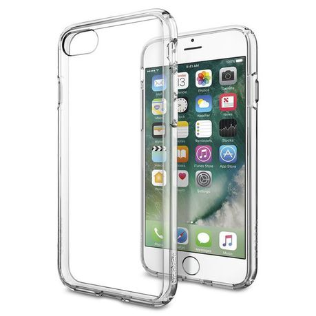 quality design 560a3 cc8b9 SPIGEN iPhone 7 ULTRA HYBRID Case - Crystal Clear