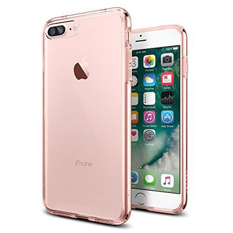 brand new e9d89 41439 SPIGEN iPhone 7 PLUS ULTRA HYBRID Case - Rose Crystal