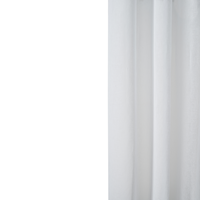 Loads of Living Catherine Voile Curtain Extra Length Taped - White