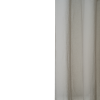 Loads of Living Catherine Voile Curtain Extra Length Taped - Natural