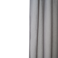 Loads of Living Catherine Voile Curtain Extra Length Taped - Rock