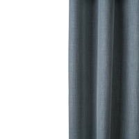Loads of Living Blockout Harvey Curtain Extra Length Eyelet - Celestial Blue