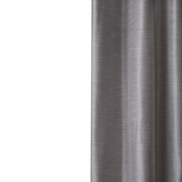 Loads of Living Blockout Watamu Curtain Extra Length Taped - Silver