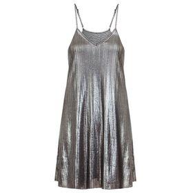 Quiz  Silver Metallic Cami Dress